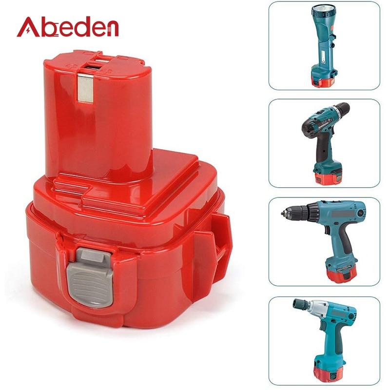 Abeden-بطارية ليثيوم بديلة ، 3000 مللي أمبير لماكيتا 12 فولت ، قابلة لإعادة الشحن ، أدوات كهربائية PA12 1220 1222 1235 1233S 1233SB