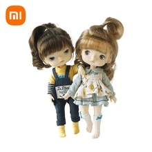 Xiaomi BJD Monst Savage Baby Rubber Dolls Toys Whole Body Joints Movable Height 20 Centimeters Kids