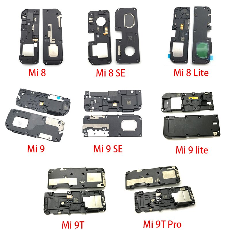 Loud Speaker Ringer For Xiaomi Mi A1 A2 A3 9T Pro 8 CC 9 Se Lite Max 3 Mix 2S POCOPHONE F1 Ringer Buzzer Flex Cable Replacement