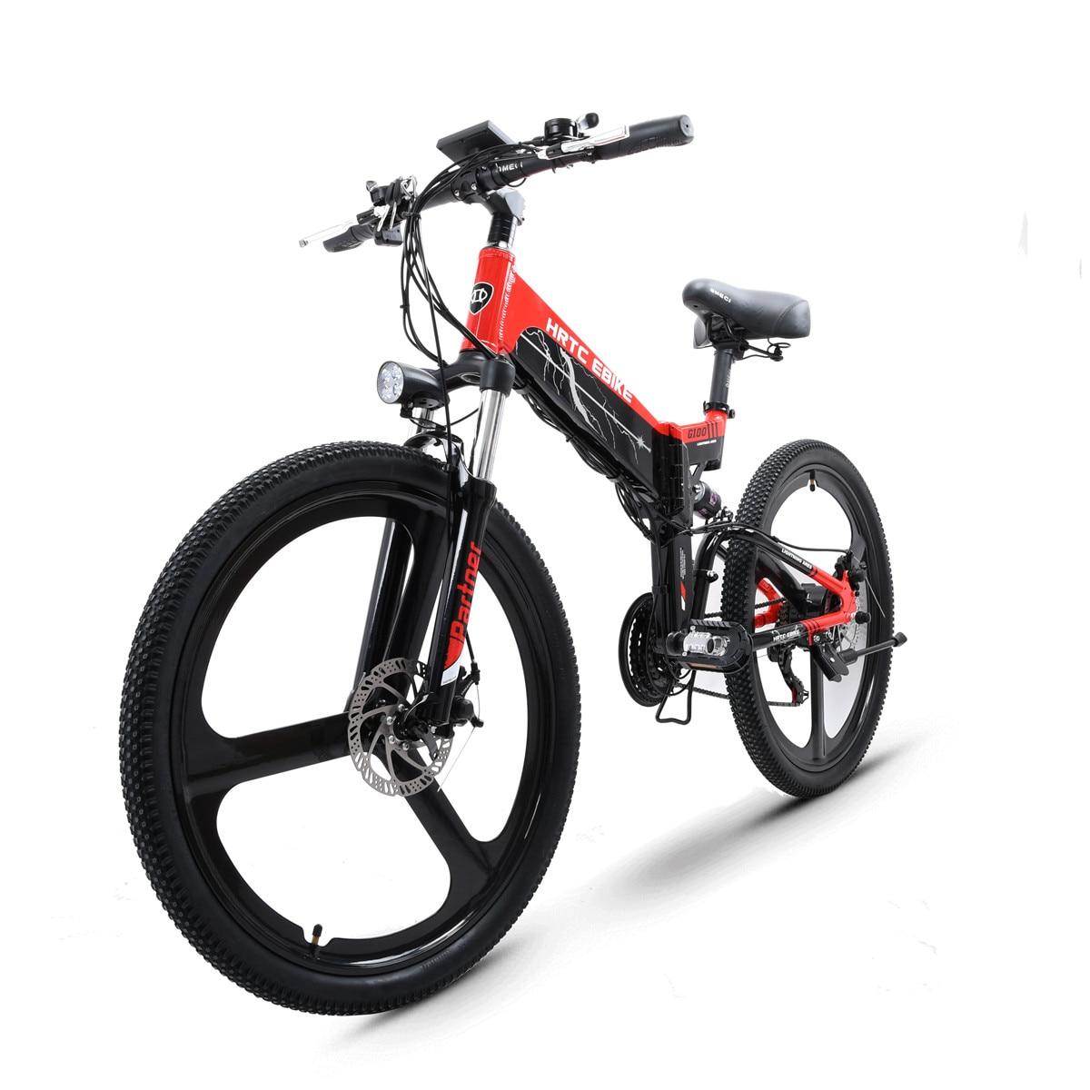 دراجة جبلية كهربائية ، 26 بوصة ، محرك 48 فولت ، 500 واط ، سرعة عالية ، بطارية ليثيوم مخفية ، emtb