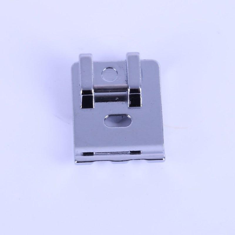 2020 casa artesanato doméstico máquina de costura presser pé metal duplo welting cording tubulação pé/pés roupas costura acessórios