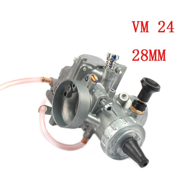 Mikuni VM24 carburetor PE28 28mm is suitable for 125 140 150 160cc Dirt Pit Bike ATV motorcycle performance improvement
