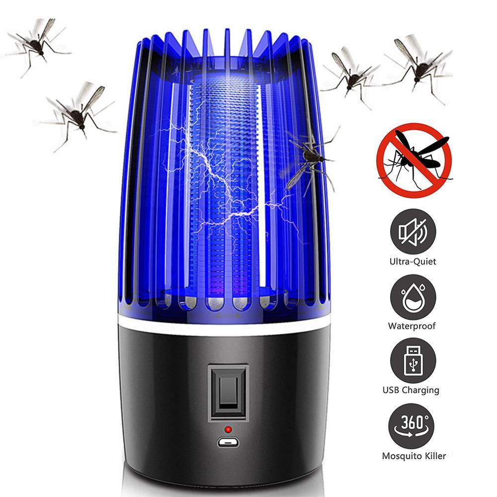 Meijuner лампа-убийца комаров USB электрическая лампа-репеллент от комаров электрическая ударная безопасная для младенцев и беременных женщин