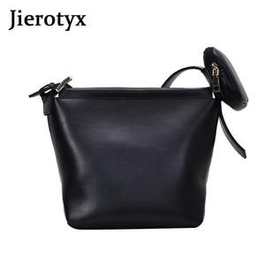 JIEROTYX Designer Fashion Women Shoulder Bags Leather Handbag Ladies Attach Mini Bag Adjustable Strap Female Casual Bag 2020 New
