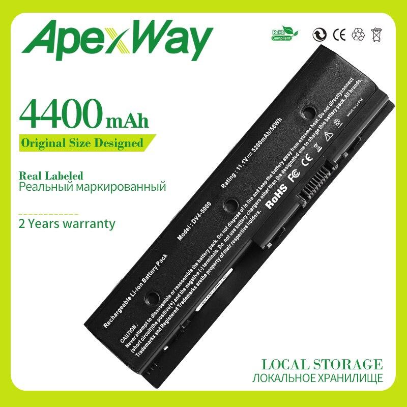 Bateria para HP DV4-5000 Apexway DV6-7000 DV6-8000 DV7-7000 672326-421 672412-001 HSTNN-LB3P HSTNN-LB3N HSTNN-YB3N DV4-5000 MO06