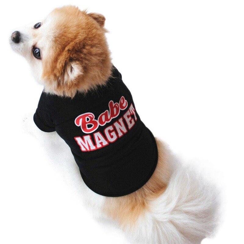 Дешевая Одежда для собак, Симпатичный жилет для собак, рубашка, одежда для домашних животных, костюм для собак, хлопковая одежда для щенков, ...