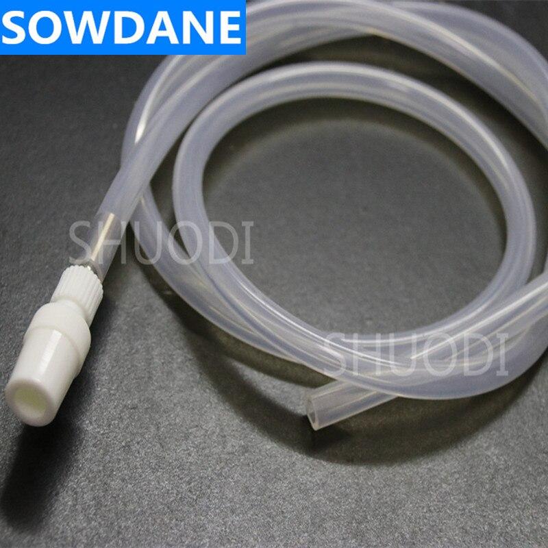 1 шт 6 мм внутренний диаметр автоклавная трубка шланг трубы для стоматологического отсасывания слюны с адаптером для отбеливания зубов