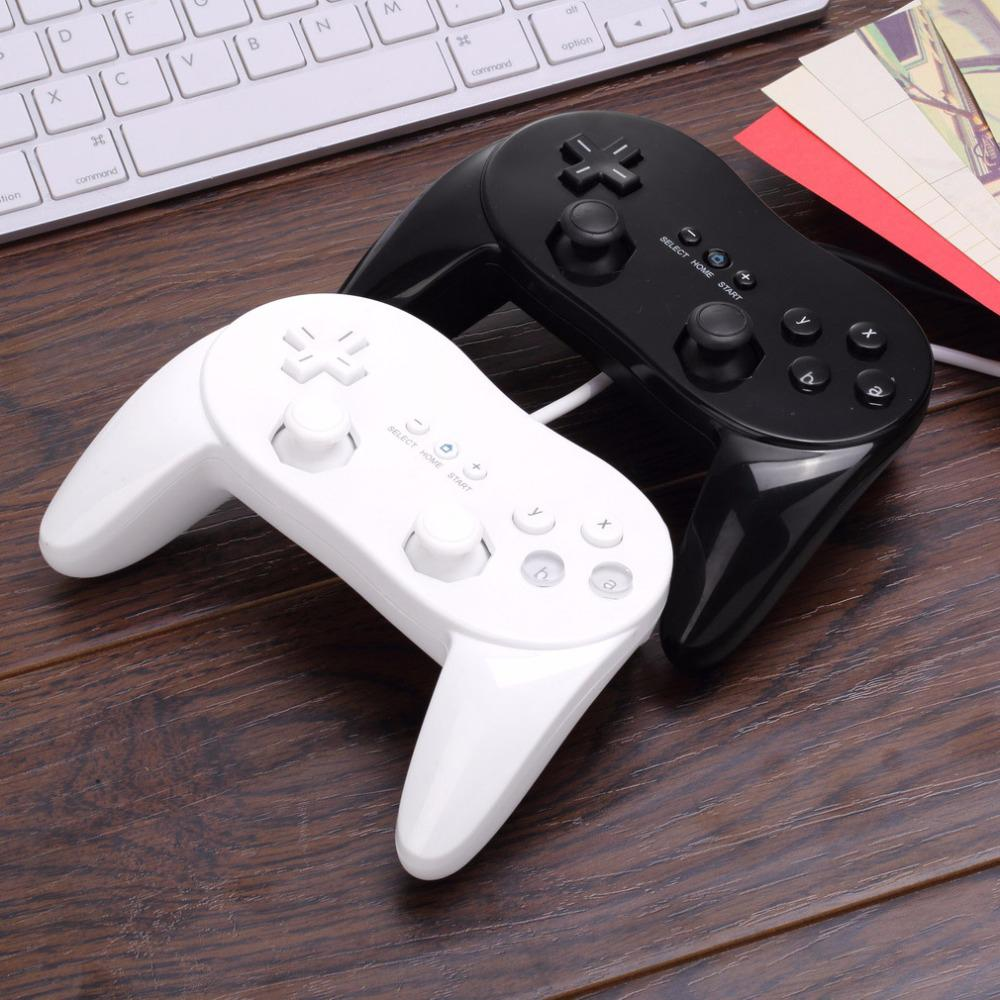 1pcs new Wired Classic Pro Controller Gamepad Game Joystick For Wii classic console Second-generation