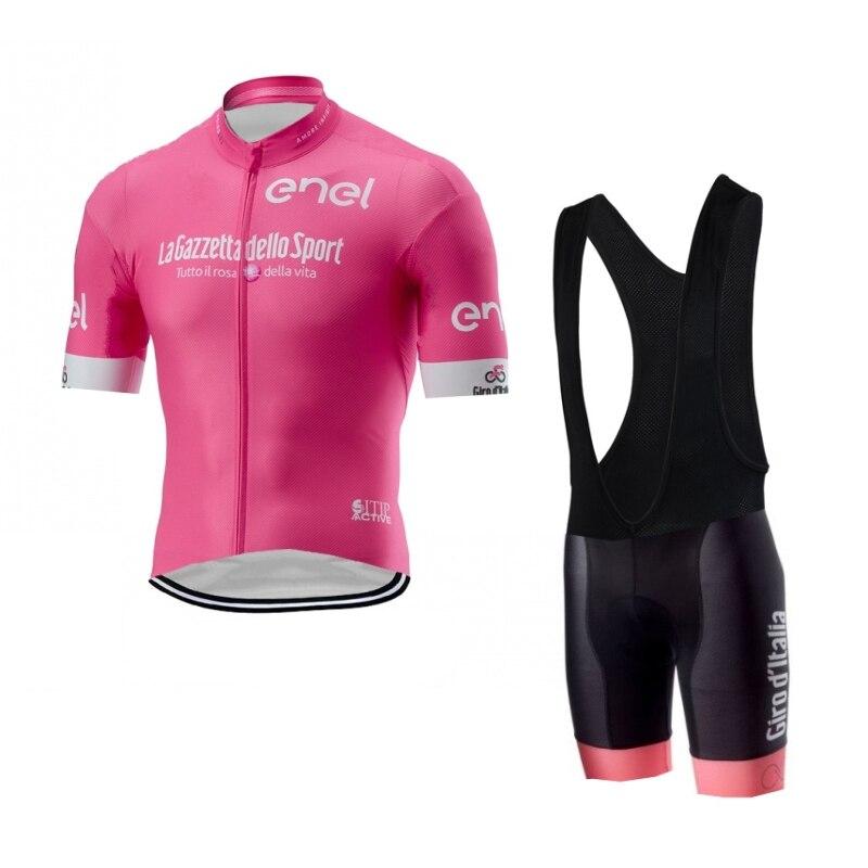 Girode-Conjunto de Ropa de Ciclismo para tour de italia, maillot y pantalones...