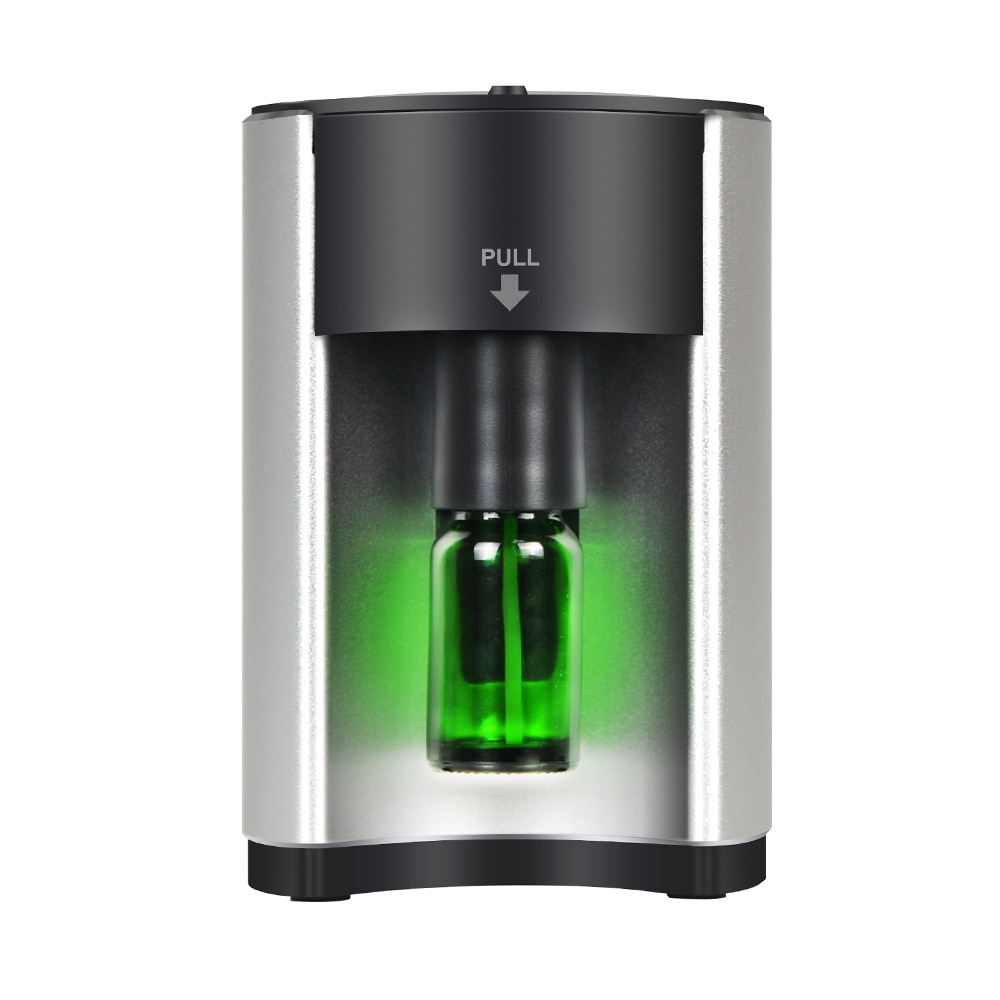 Essential Oil Aroma Diffuser Aluminum shell Portable Waterless Aromatherapy No Water Scent Machine, Purifying Air Silent Home