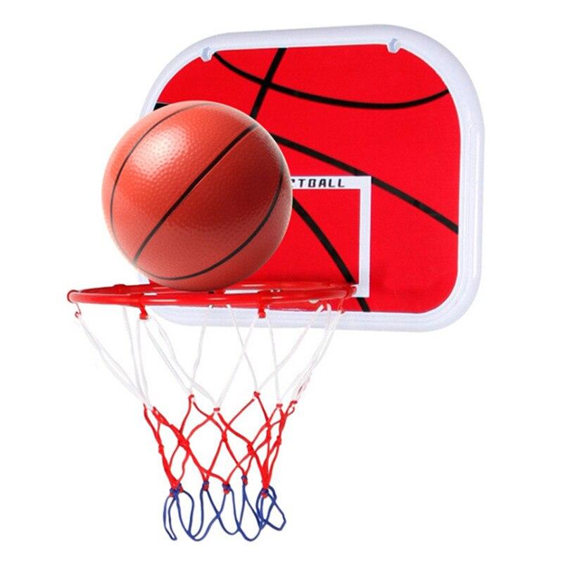 Pelota de baloncesto de interior colgante para puerta, Mini tablero de baloncesto, canasta familiar, juego de baloncesto para niños, juego nuevo