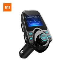 Xiaomi T11 Wireless Bluetooth FM Transmitter Handsfree Car Kit MP3 Player Wireless Bluetooth Adapter With Dual USB Port Car Kit