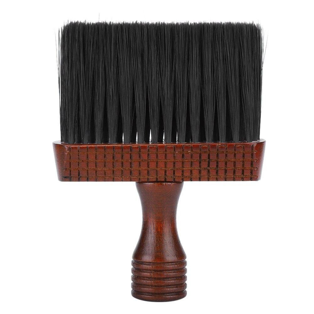 Cepillo de pelo y Barbero de estilismo de salón, cepillos de barrido para la eliminación del vello del cuello del rostro, cepillo para cortar el pelo de peluquería, plumero de Cepillo de limpieza suave