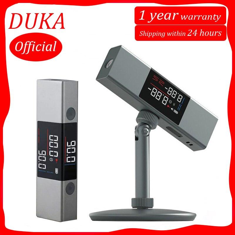 Duka atuman лазерный прибор для литья под углом в режиме реального времени, угломер LI 1, двухсторонний СВЕТОДИОДНЫЙ экран высокой четкости