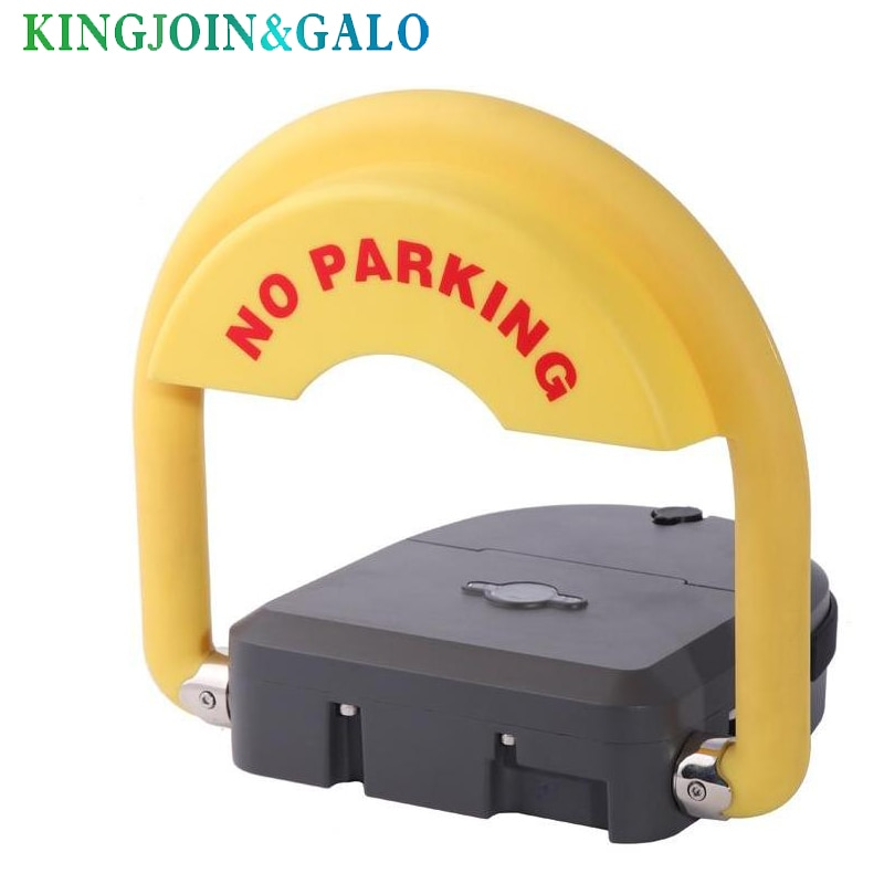 Outdoor Used Water Proof Remote Control Battery Powered Automatic Parking Barrier Parking Lock With IP68