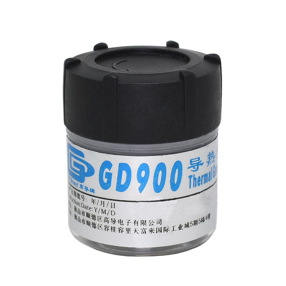 30g Thermal Paste Gd900 Thermal Grease Heatsink Plaster Thermal Paste For Cpu Liquid Metal Water Cooling Cooler high conductivity gd900 30g processor cpu radiator heat dissipation silicone paste plaster heat dissipation paste needle tube sy