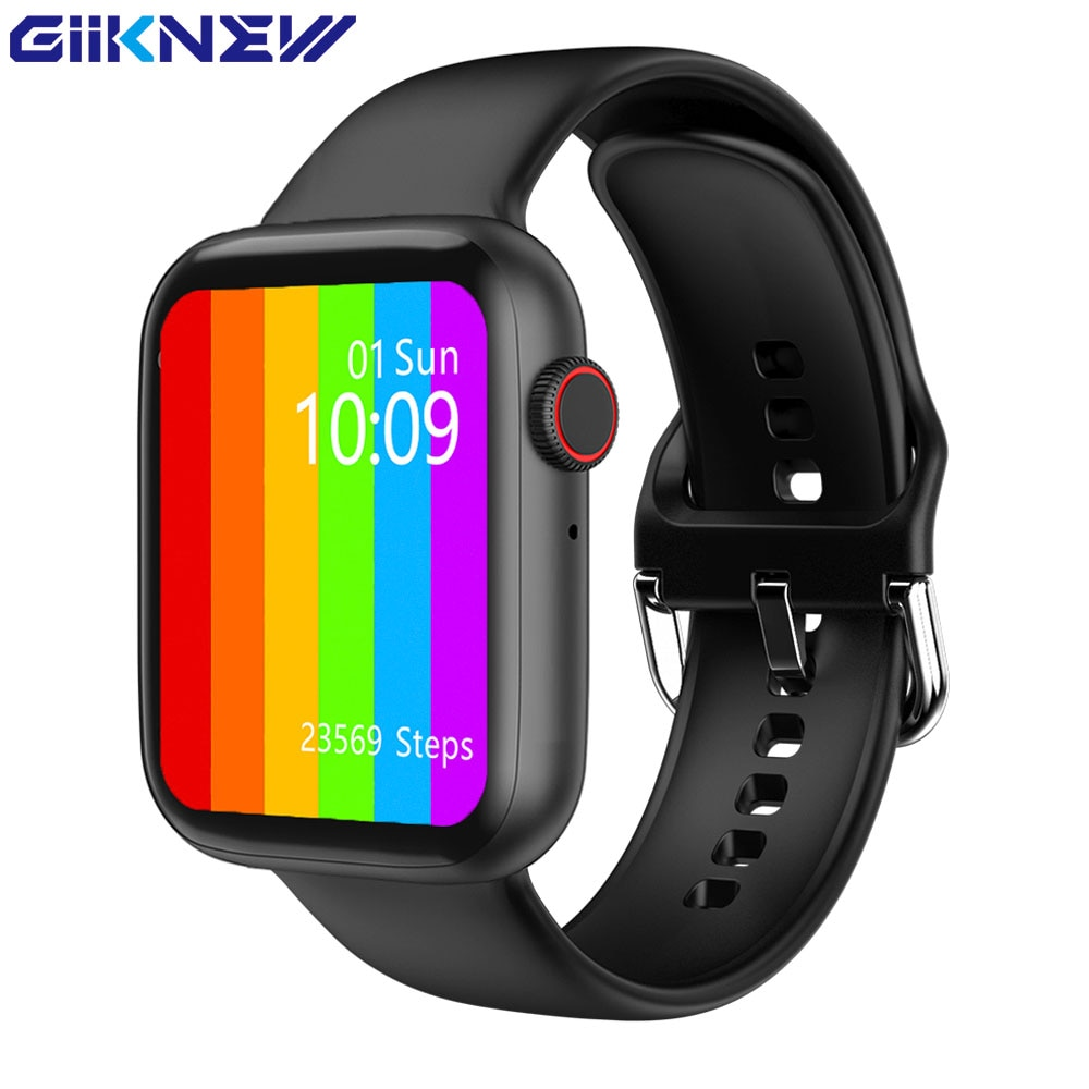 GIINKWE IWO W26 Smart Watch Series 6 40mm 44mm with Call Message Reminder ECG PPG Heart Rate IWO W26