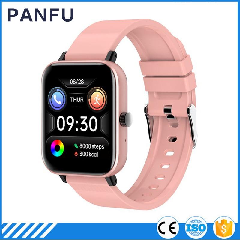 New H10 1.54 inch 2021 Smart Watch Men Full Touch Heart Rate Fitness Tracker IP67 waterproof Smartwa