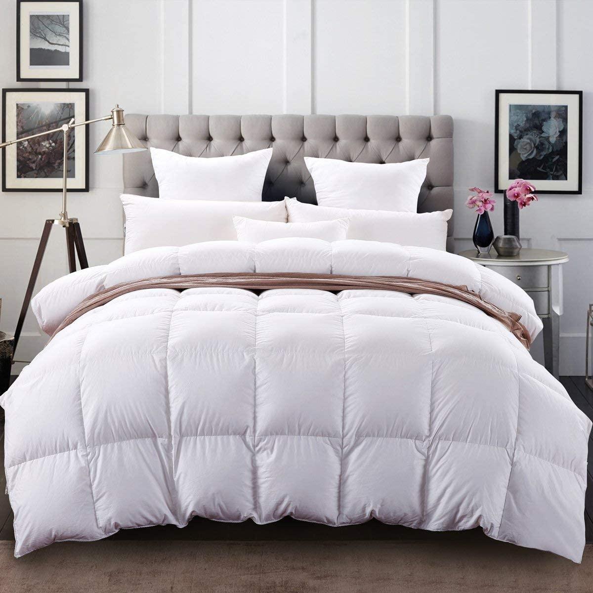 بطانية الشتاء الدافئة للكبار 100% القطن الطبيعي البطانيات الثقيلة مساعدة النوم تقليل القلق الشتاء الدافئة مبطن البطانيات
