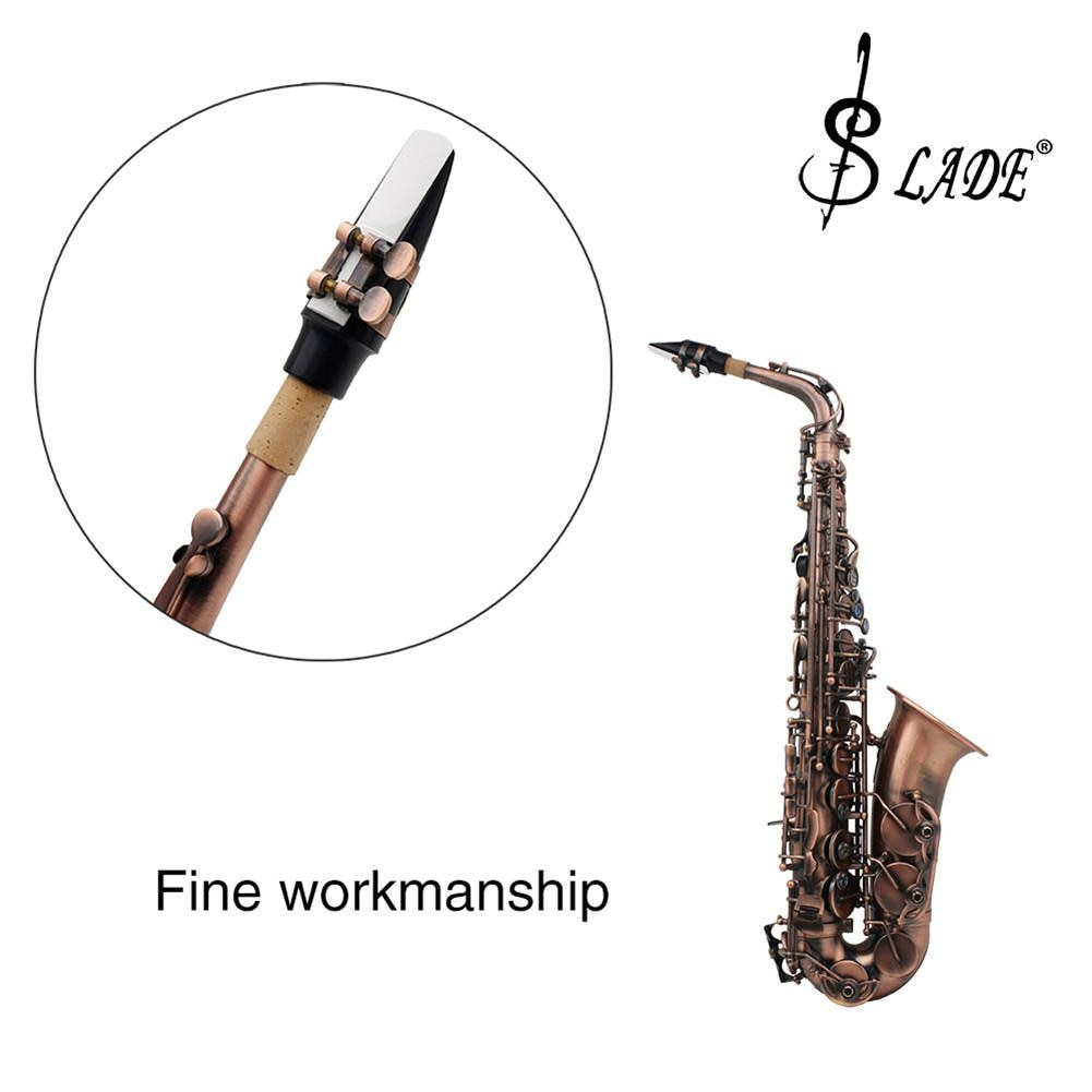 Venta de lengüetas de saxofón Alto de peso ligero de resina ABS 2,5 de fuerza 4 colores accesorios opcionales para instrumentos de saxofón