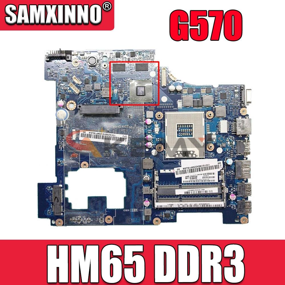 لينوفو Ideapad G570 اللوحة الأم للكمبيوتر المحمول LA-6753P 216-0774207 HM65 DDR3 اللوحة الرئيسية