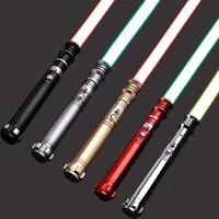 cieltan revan lightsaber rgb 12 changing color with 10 soundfonts metal handle force blaster flash on clash laser saber toys