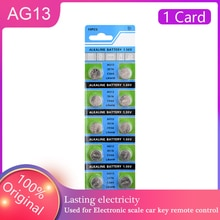 2021 HOT SALES 10 Pcs AG13 YCDC Coin Cell Battery LR44 LR44 357 357A S76E G13 Button Batteries 1.5V
