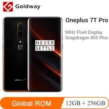OnePlus 7T Pro 12GB 256GB Mclaren Snapdragon 855 Plus NFC Smartphone 6.67'' Fluid AMOLED 90Hz Screen 48MP Triple Camera UFS 3.0