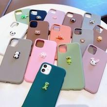 3D Cute Cat Silicone Case For Huawei P40 Pro P30 P20 Lite Pro P10 P40 Lite E P8 P9 2017 2019 Soft TP