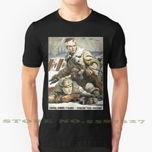 İnsanlar, ordu ve Stalin onlar tasarrufu size, moskova! -Wwii sovyet Propaganda posteri serin tasarım moda T-Shirt Tee