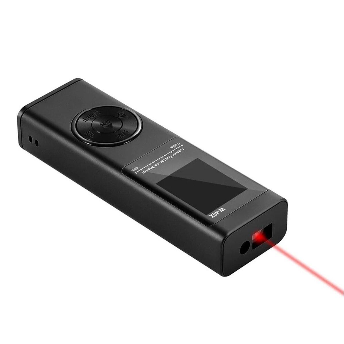 Мини лазерный дальномер 40/60/80M лазерный дальномер Дальномер Лента дальномер измеритель сборка устройства линейка Тесты инструменты