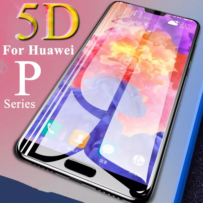 5D Защитное стекло для Huawei p 20 lite pro smart закаленное p20 light p20pro p20lite psmart on huavei защита экрана tremp Защитные стёкла и плёнки      АлиЭкспресс