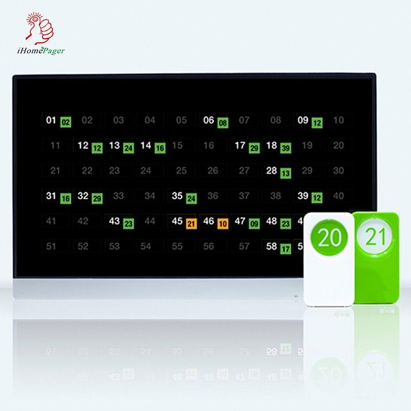 مطعم الجدول المقتفي نظام موقف العملاء أو مكتب رقم قفل آلة ، لمدة 20 الجداول