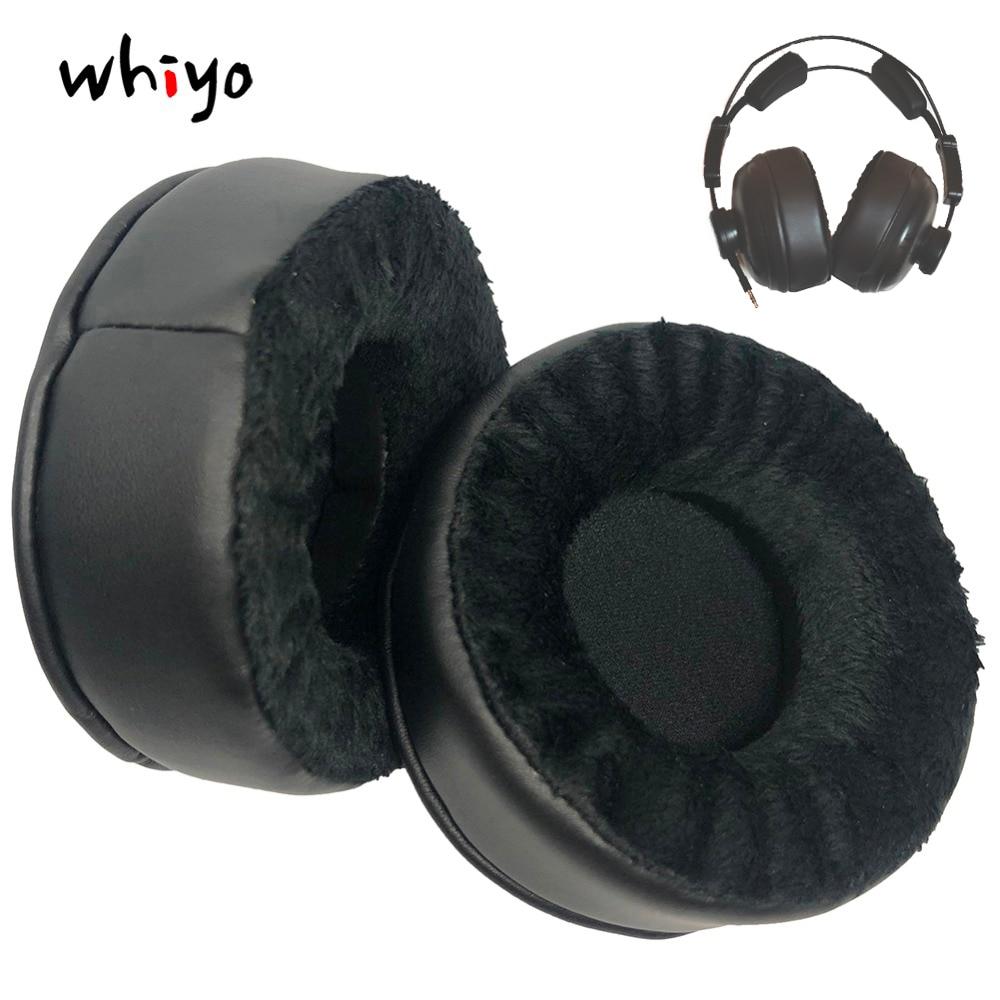 1 par de almohadillas de cuero de terciopelo para auriculares Axelvox HD271 HD272
