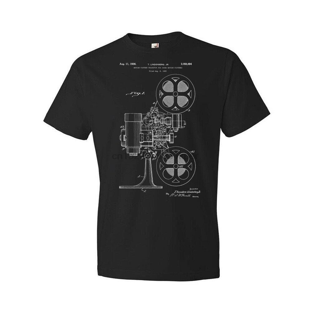 Película proyector camisa Actor regalo cineasta clásico de Hollywood películas Home Theater