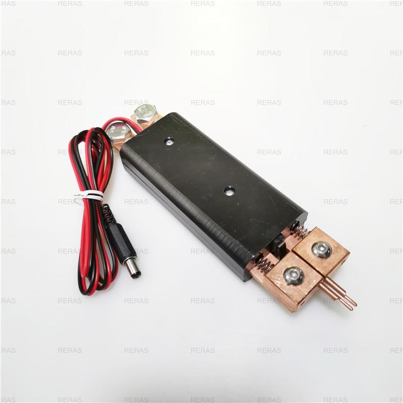Интегрированный ручной точечный сварочный электрод Автоматический триггер Встроенный переключатель все делается одной рукой машины для точечной сварки сварочный аппарат