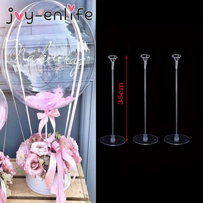 1/3/5pcs Wedding Table Balloon Stand Balloon Holder Support Base Table Floating Wedding Table Decora