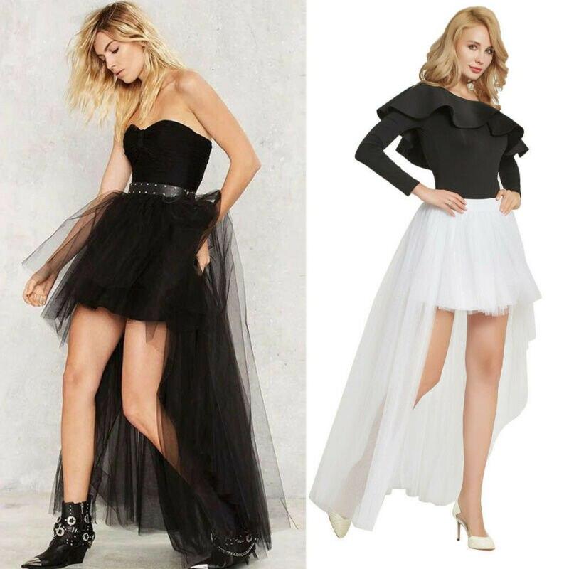 Mujeres capas tul Derss vestido largo princesa niñas Ballet tutú baile vestidos de fiesta/por