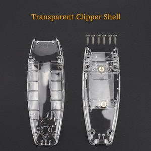 Hair clipper transparent modified shell hair trimmer cover back shell cover Barbershop accessories