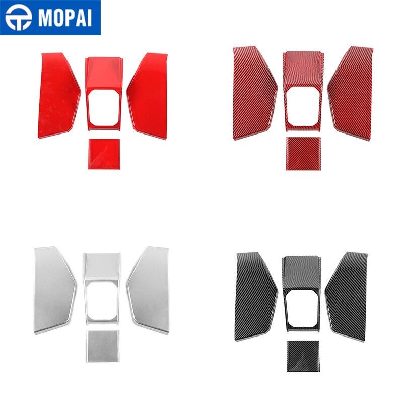 MOPAI Interior Accessories for Suzuki Jimny JB74 Car Gear Shift Panel Decoration Cover Stickers for Suzuki Jimny 2019+ enlarge