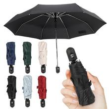 Automatic Multicolor Umbrella Rain Women 5 Folding Wind Resistant Umbrella Men 10K Golf Business Men For Car Umbrellas Paraguas