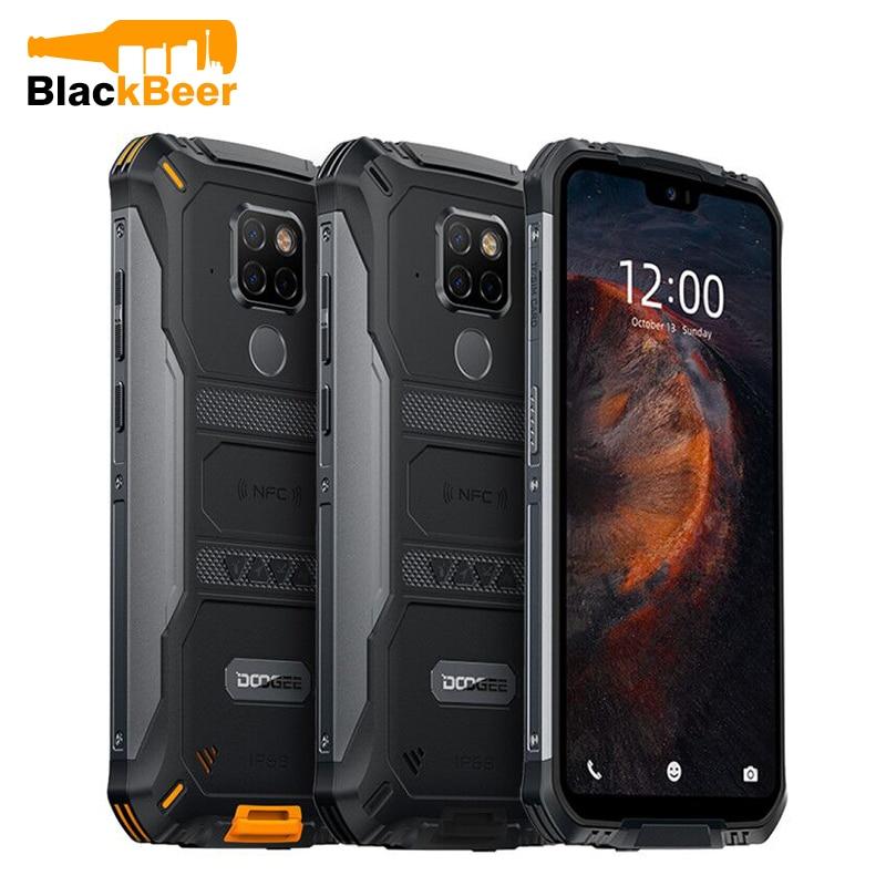 Перейти на Алиэкспресс и купить DOOGEE S68 Pro 5,84 дюймпрочный смартфон IP68/IP69K MTK Helio P70 мобильный телефон 6 ГБ 128 ГБ Octa мобильный телефон AL 21MP тройные камеры NFC