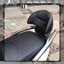 For SYM CRUISYM 300 GTS300 GTS 300 JOYMAX Z300 Black leather Motorcycle Rear Passenger Backrest Back Pad seat Backrest