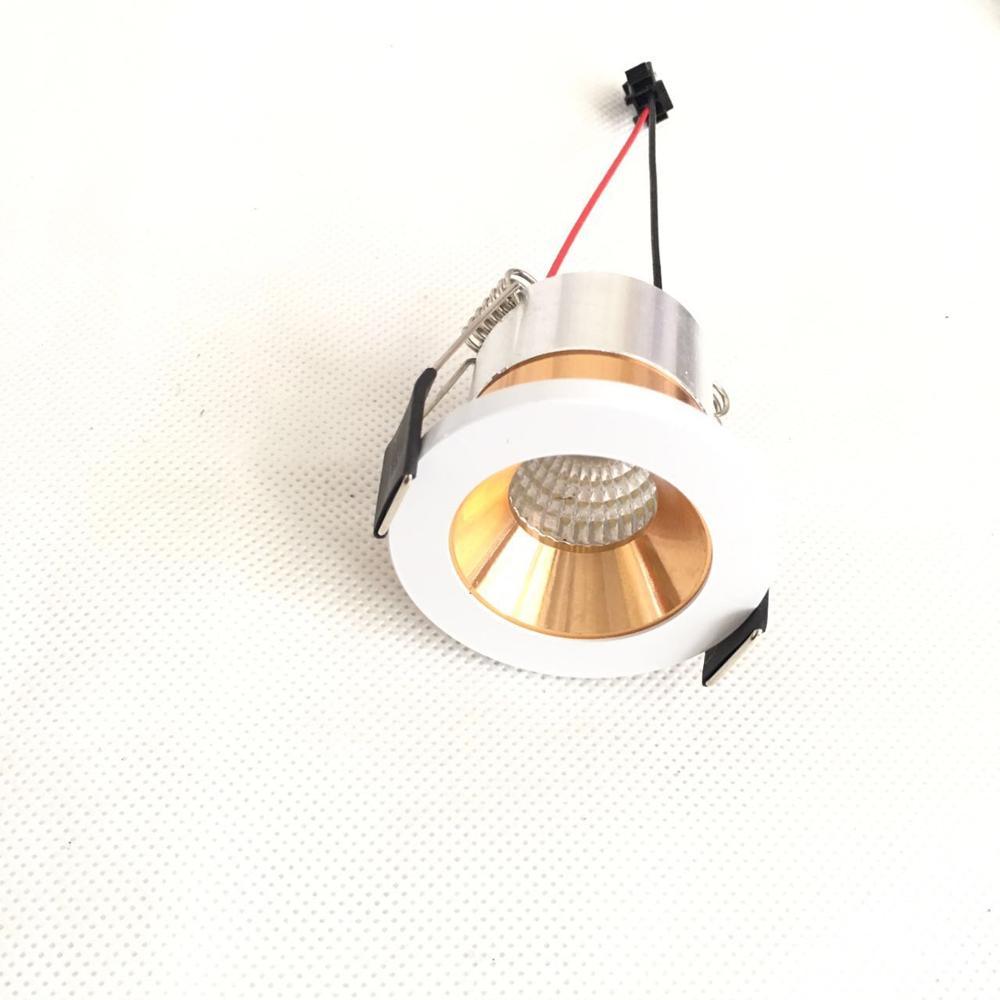جديد وصول بقعة نموذج 10 قطعة/الوحدة 3 واط عالية مشرق راحة Led النازل Cob بقعة ضوء الديكور السقف