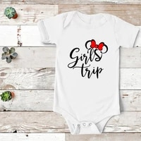 girls trip mommy and me outfits best girl friends shirts 2021 cotton fashion little sister matching outfit summer girl