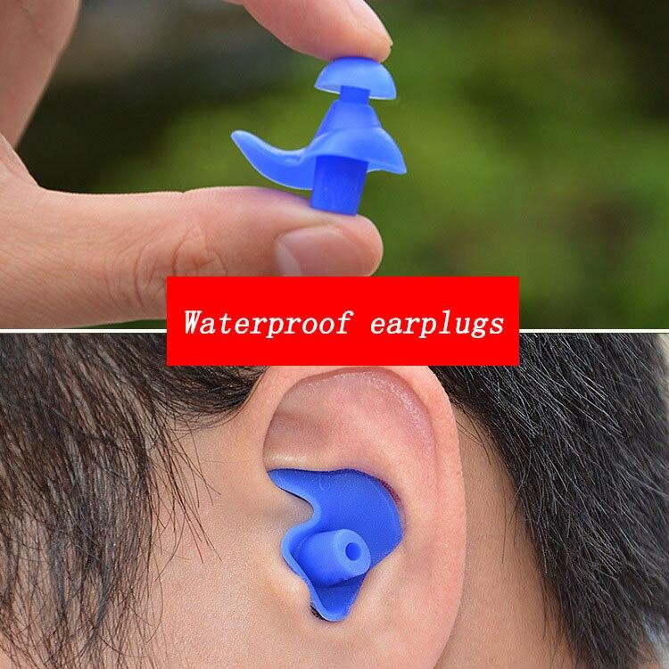 Soft Earplugs Silicone Waterproof Earplug Dust-Proof Ear Environmental Sport Plugs Diving Water Spor