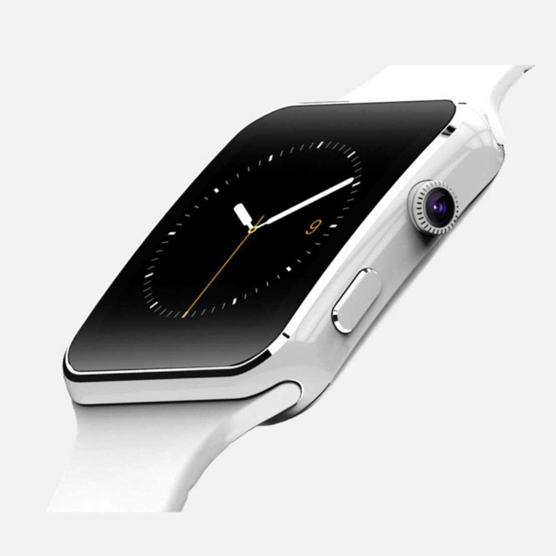 Reloj inteligente X6 compatible con tarjeta SIM TF cámara de posicionamiento GPS reloj inteligente Bluetooth dial-up/pantalla táctil con cámara, adecuado para