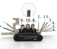 Couvercle de clé pour tournevis r6 royal enfield   Accessoires universels pour tournevis de moto #083 2mm-10mm accessoires pulsar ns 200 gsxr 750