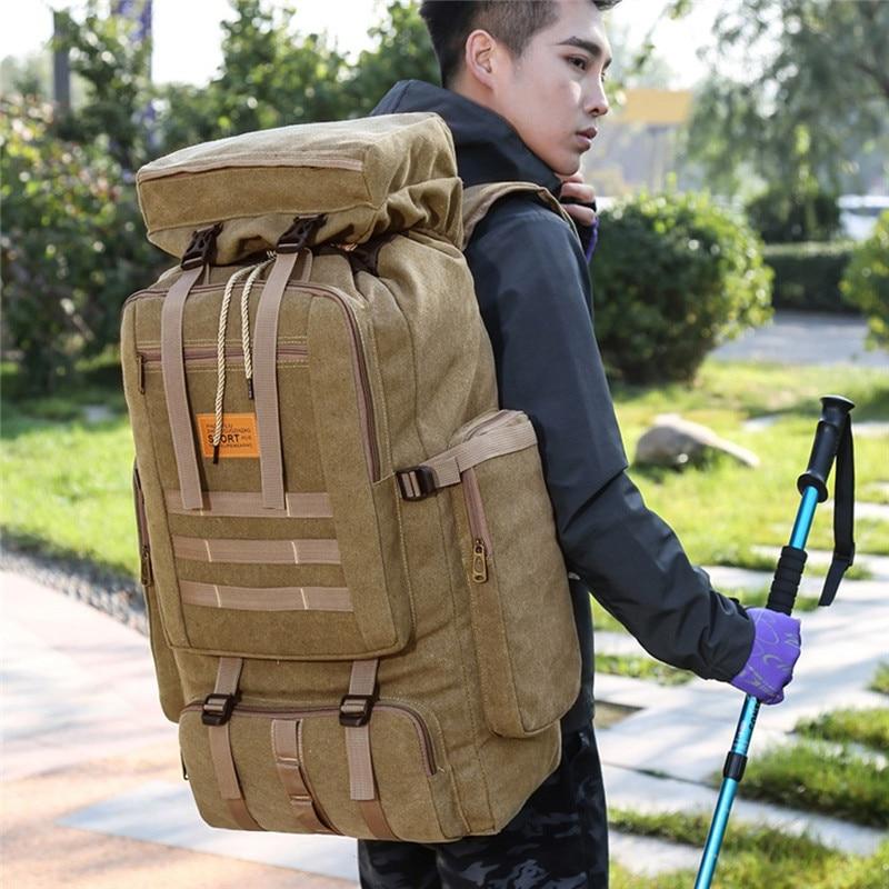 Mochila de asalto táctico militar, mochila impermeable para exteriores, mochila militar, mochila de gran capacidad para exteriores, senderismo, Camping, mochilas