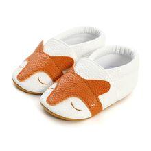 Stylish Newborn Baby Shoes Spring Autumn Soft Bottom Casual Non-Slip PU Pre-walking Shoe Baby Girls Princess 2019 Toddler Shoes